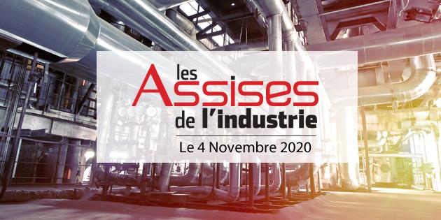 bandeau Assises de l'industrie- 4 novembre 2020